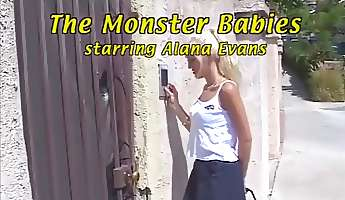 Incredible adult movie star Alana Evans in exotic threesomes dp porno clip